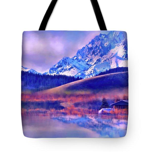 Mt. Stuart Tote Bag