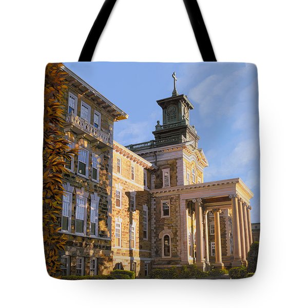 Mt St.mary Academy Tote Bag by Guido Borelli
