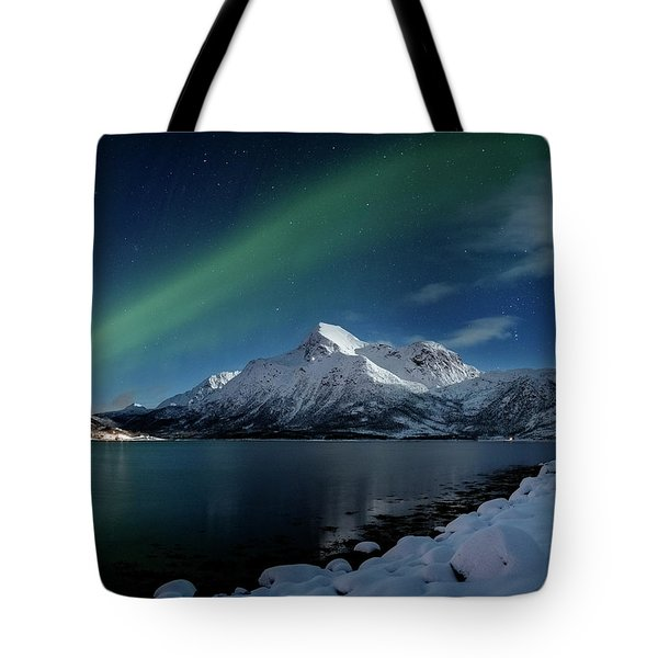 Mt Stortinden Tote Bag
