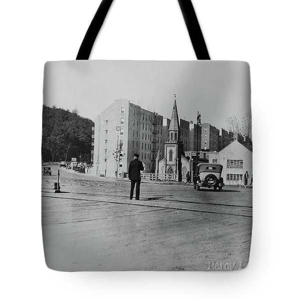 Tote Bag featuring the photograph Mt. Washington Church  by Cole Thompson