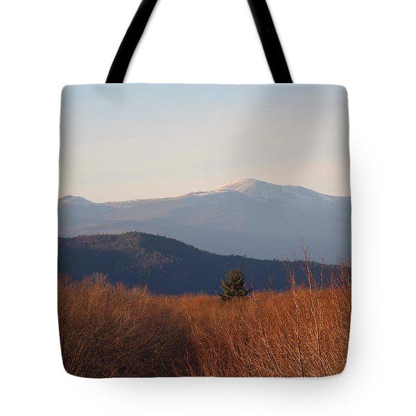 Mt Washington Nh Tote Bag