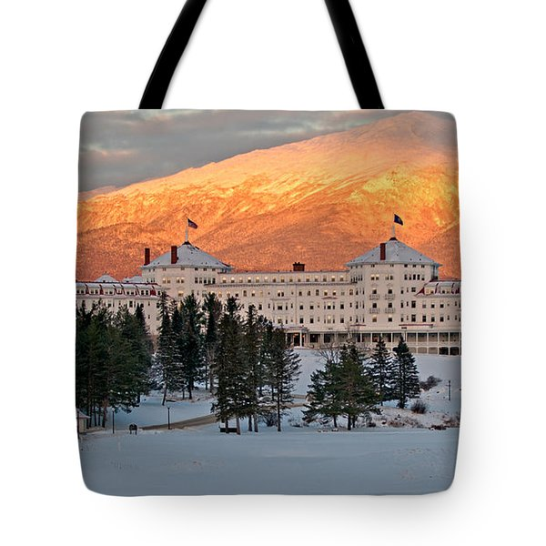 Mt. Washinton Hotel Tote Bag