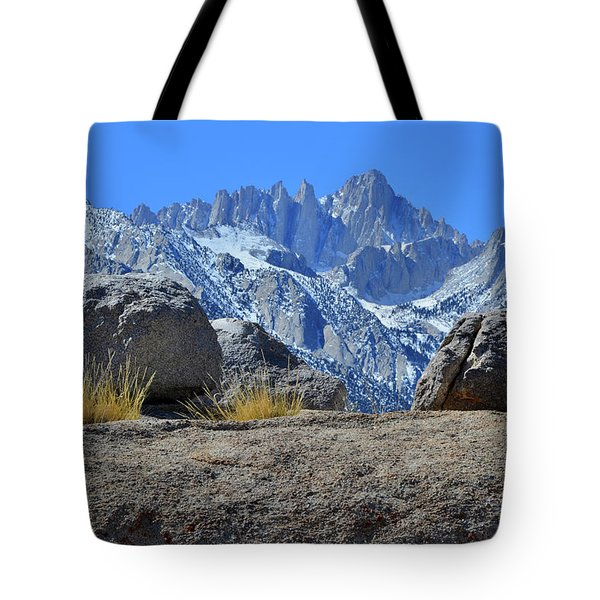 Mt. Whitney - Highest Point In The Lower 48 States Tote Bag