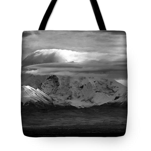 Mt Drum Tote Bag