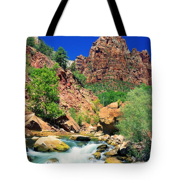Mt.moroni / Virgin River Tote Bag