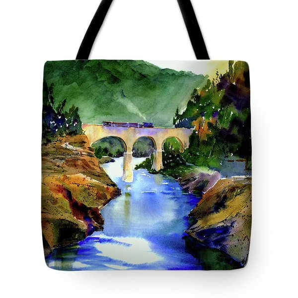 Mtn Quarries Rr Bridge Tote Bag