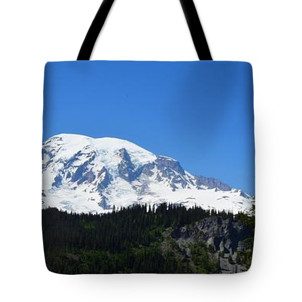 Mt.rainier Tote Bag