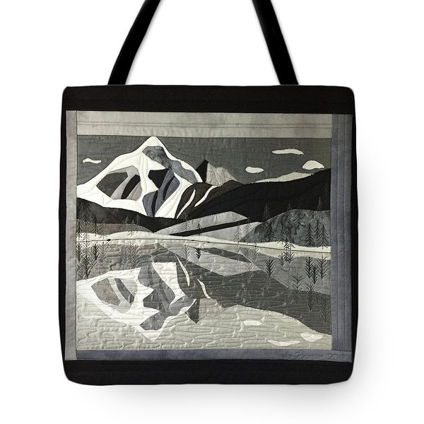 Mt.shuksan In Gray Tote Bag