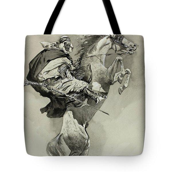 Mubarek The Arabian Chief Tote Bag