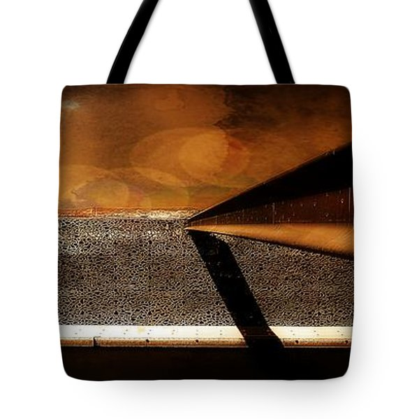 Mucem,panoramic,bokeh Tote Bag