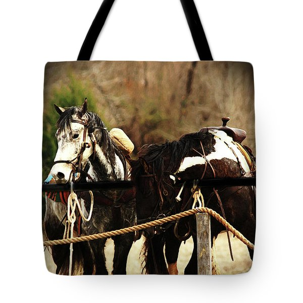 Much Needed Rest Tote Bag by Kim Henderson