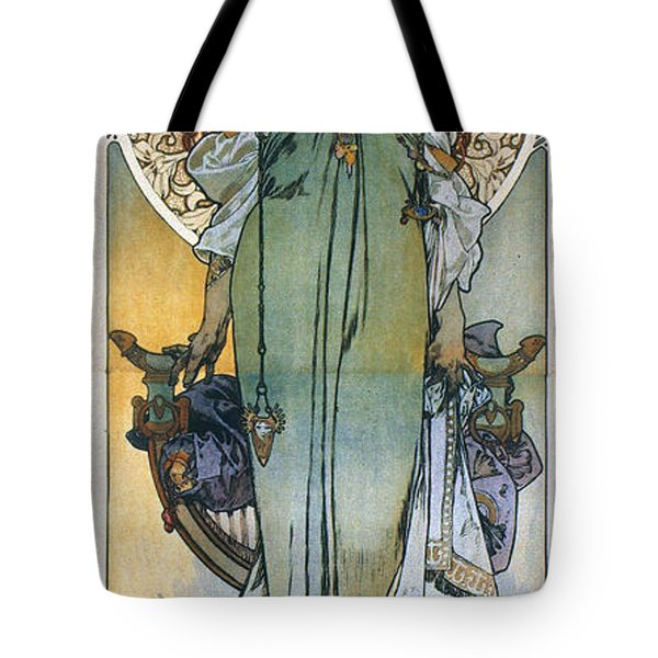 Mucha: Theatrical Poster Tote Bag by Granger