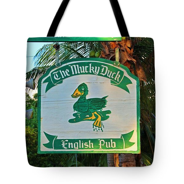 Mucky Duck I Tote Bag