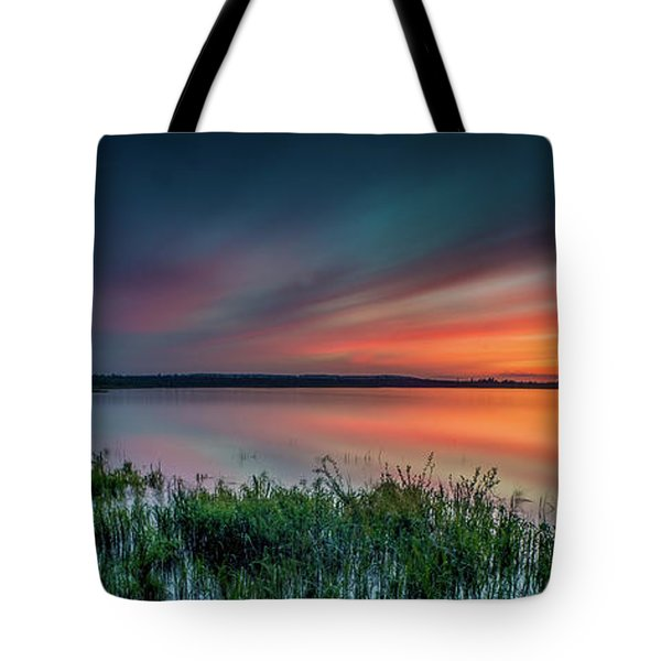 Mud Bay Sunset 4 Tote Bag