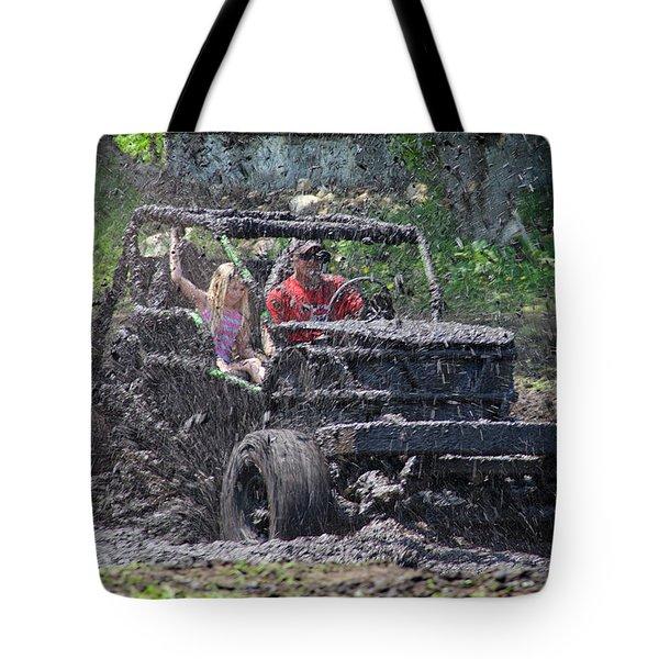 Mud Bogging Tote Bag
