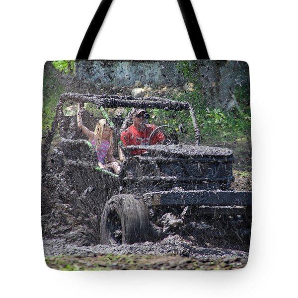 Mud Bogging Tote Bag