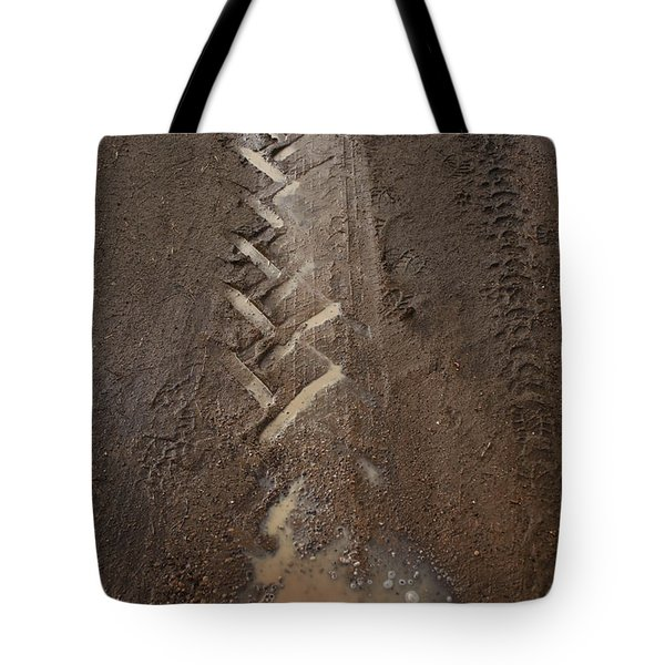 Tote Bag featuring the photograph Mud Escape by Stephen Mitchell