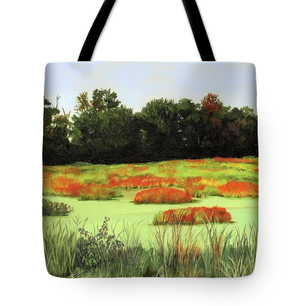 Mud Lake Marsh Tote Bag