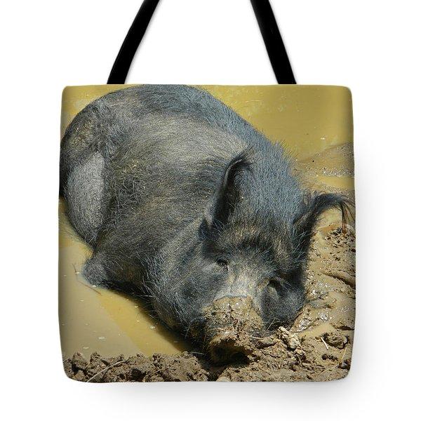 Mud Spa Tote Bag