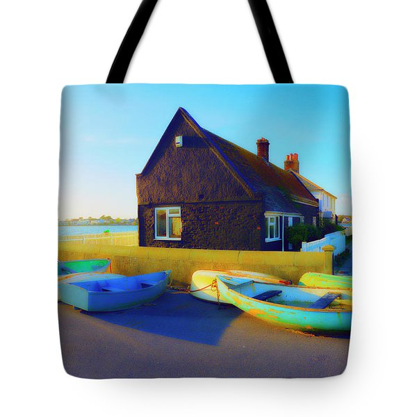 Muddage  Rowers Tote Bag by Jan W Faul