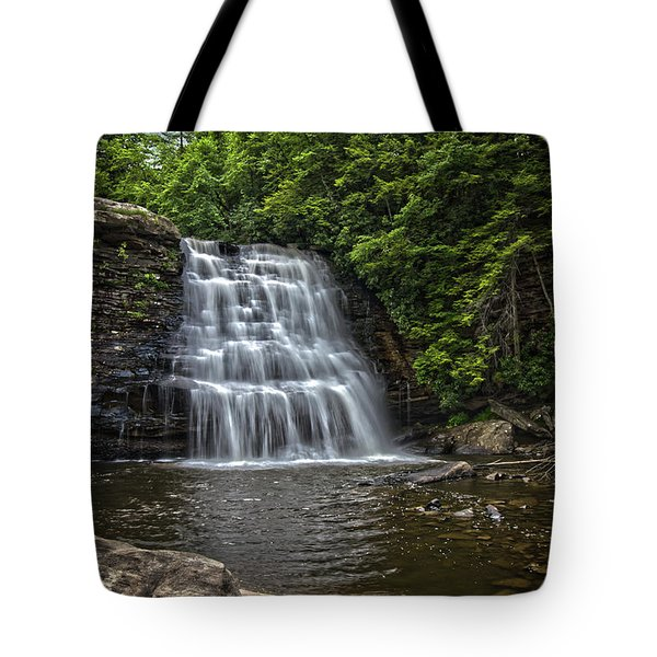 Muddy Creek Falls Tote Bag