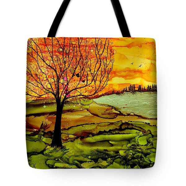 Muddy Fall Tote Bag