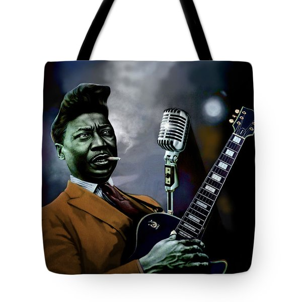 Muddy Waters - Mick Jagger's Grandfather Tote Bag