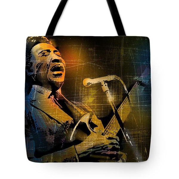 Muddy Waters Tote Bag by Paul Sachtleben
