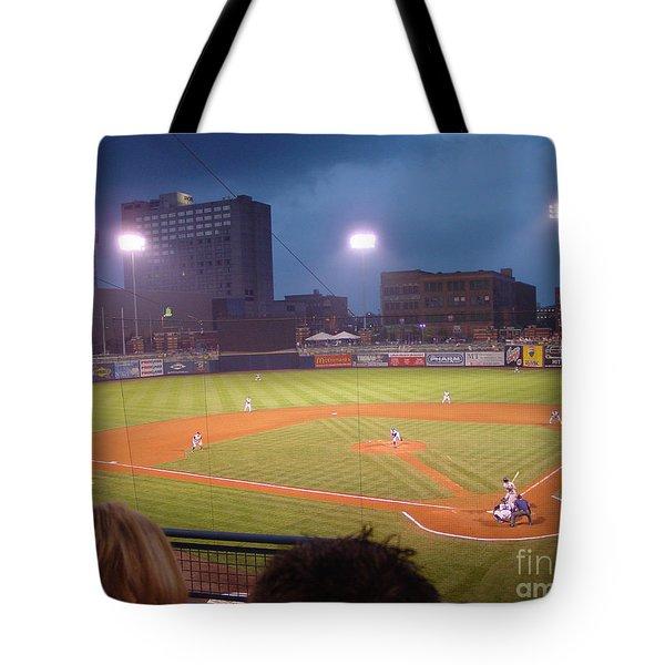 Mudhen's Game Tote Bag