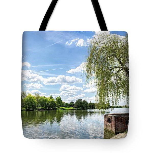 Muenster Aasee Tote Bag