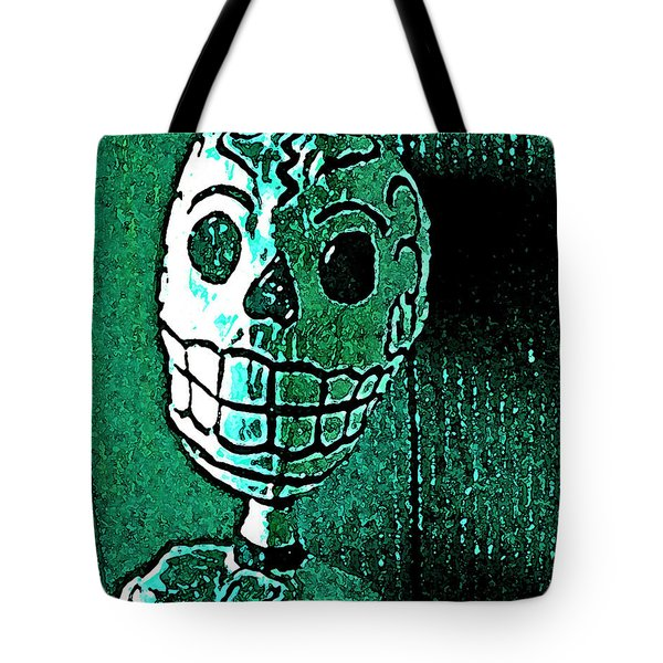 Tote Bag featuring the photograph Muertos 4 by Pamela Cooper