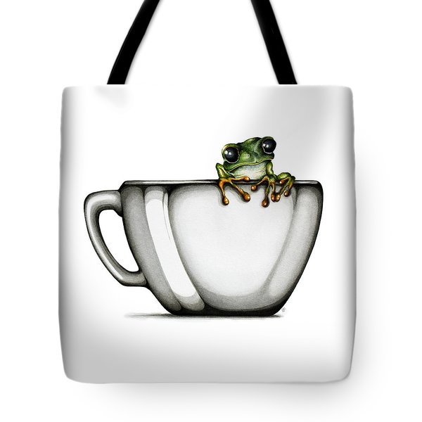 Muggy Tote Bag by Christina Meeusen