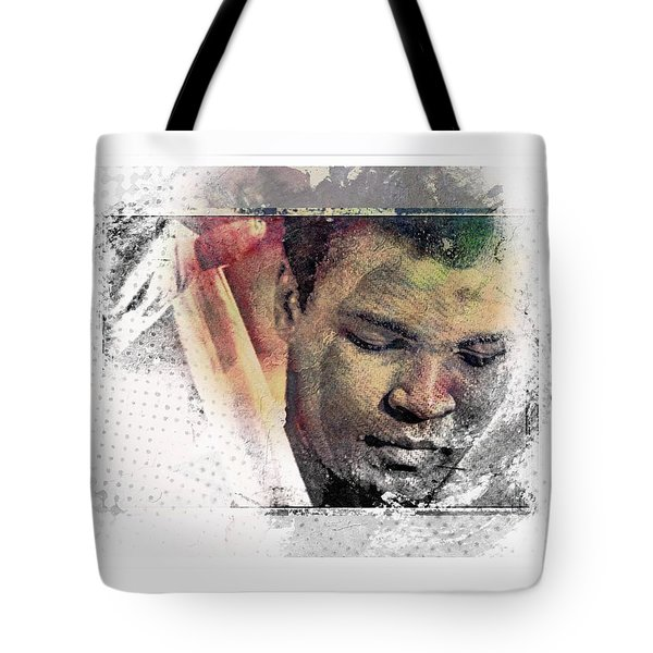 Tote Bag featuring the photograph Muhammad Ali by Allen Beilschmidt
