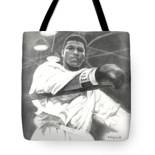 Young Cassius Clay Tote Bag