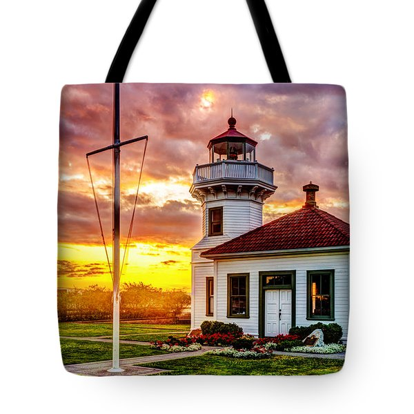 Mukilteo Lighthouse No. 2 Tote Bag