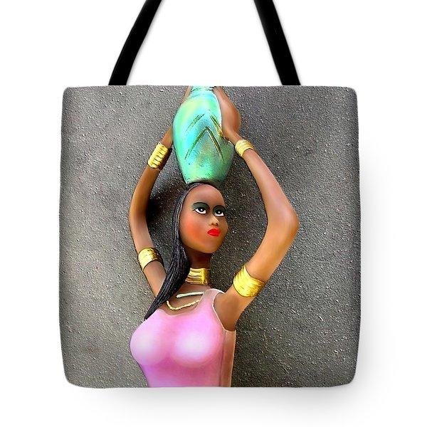 Mulatto Girl By Rafi Talby Tote Bag by Rafi Talby