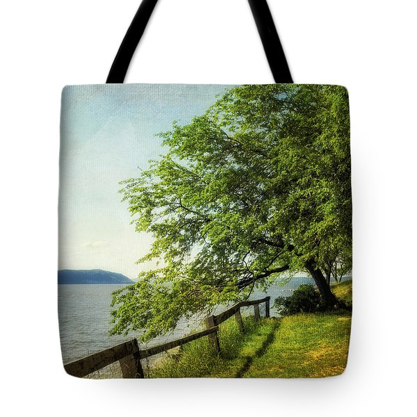 Mulberry On The Hudson Paint Tote Bag