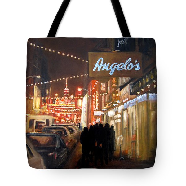 Mulberry St. Nyc Tote Bag