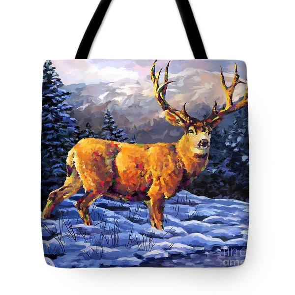 Mule Deer 2 Tote Bag