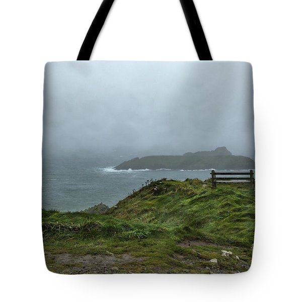 Tote Bag featuring the photograph Mullion Cove by Brian Roscorla