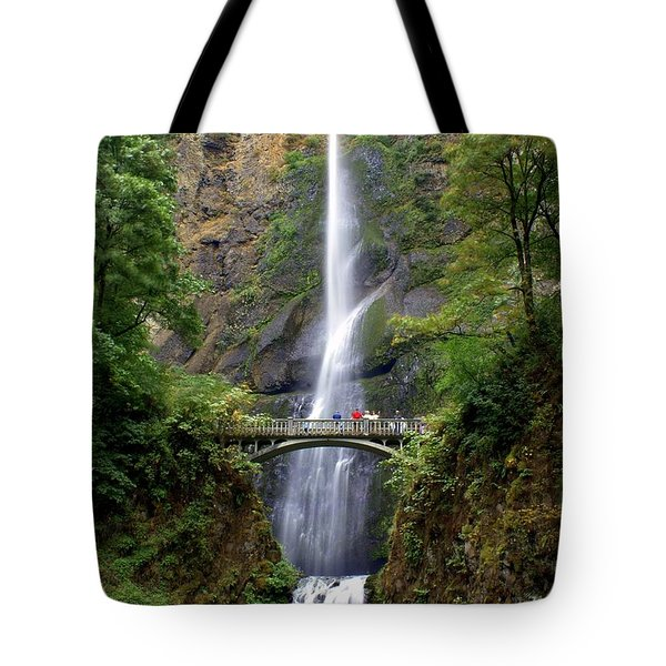 Multanomah Falls Tote Bag by Marty Koch