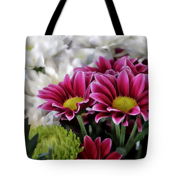 Multi Colored Array Tote Bag