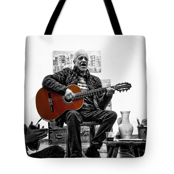 Multi-talented Artist Tote Bag by Al Bourassa