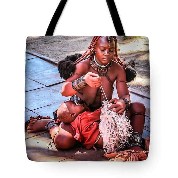 Tote Bag featuring the photograph Multi Tasking by Gregory Daley  PPSA