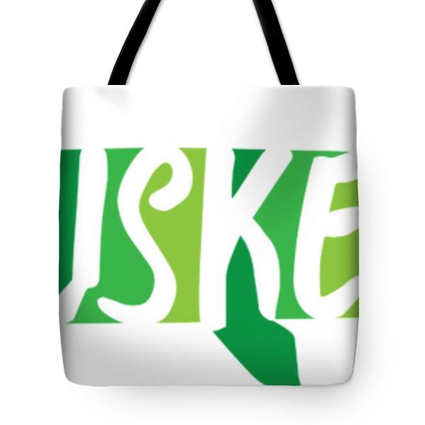 Multicolored Muskellunge Tote Bag