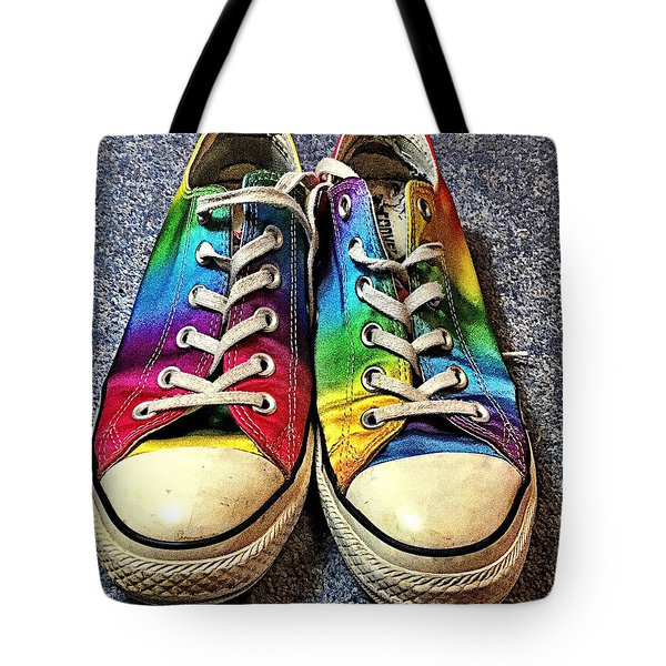 Multicolored Sneakers 1 Tote Bag