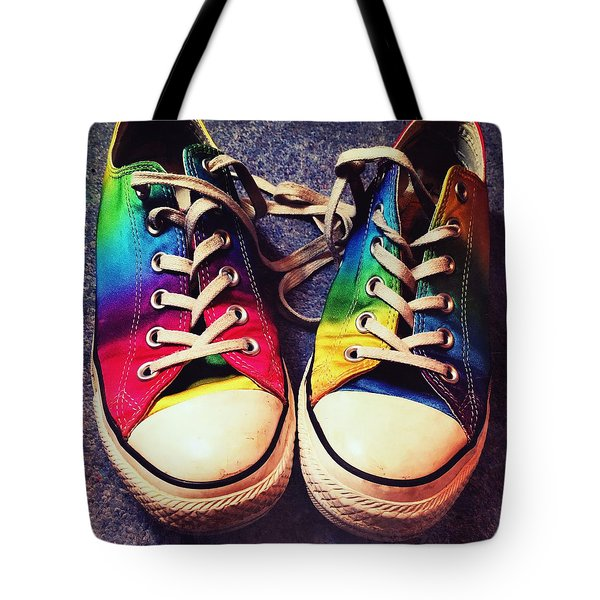 Multicolored Sneakers 6 Tote Bag