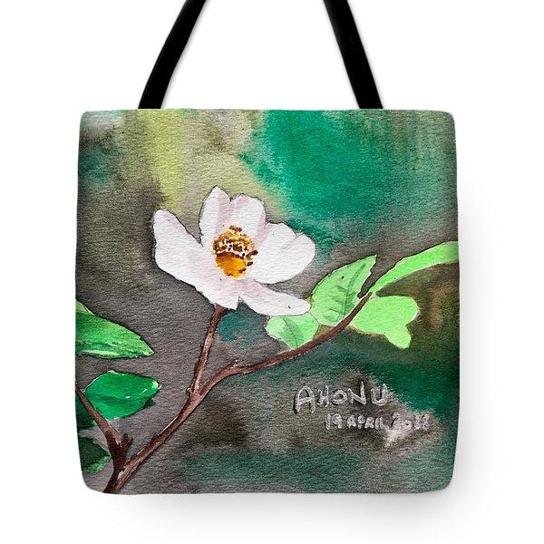 Multiflora Rosa Tote Bag