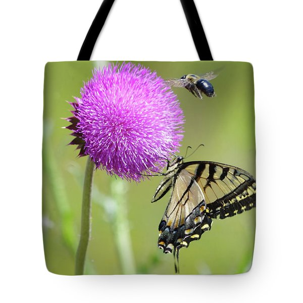 Multiple Visitors Tote Bag