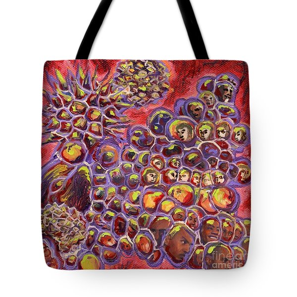 Multiply Microbiology Landscapes Series Tote Bag by Emily McLaughlin